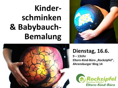 Kinderschminken & Babybauch-Bemalung Homepage
